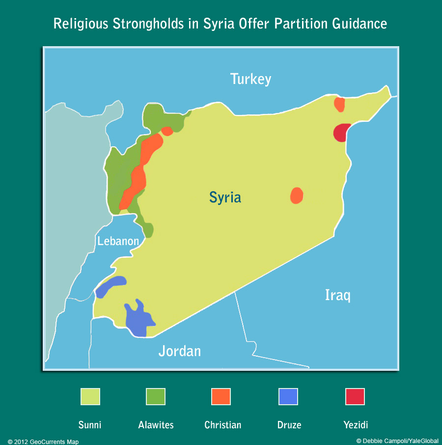 is partition a solution for syria yaleglobal online