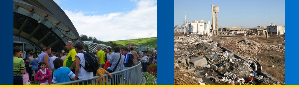 Tourism to the rescue: Romania promotes tourism as it tries to recover from environmental damage, and the city of Turda remains an environmental disaster zone