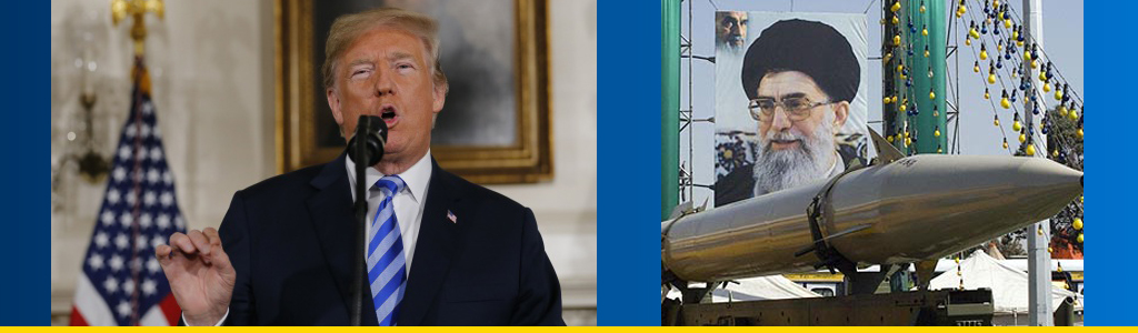 Done deal? President Trump announces US exit from the Iran nuclear deal, and will Iran limit its missile program?