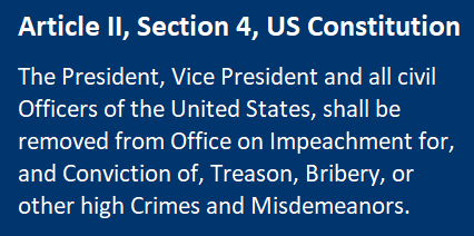 Article II, Section 4 US Constitution