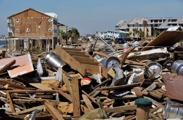 Mexico Beach after Hurricane Michael