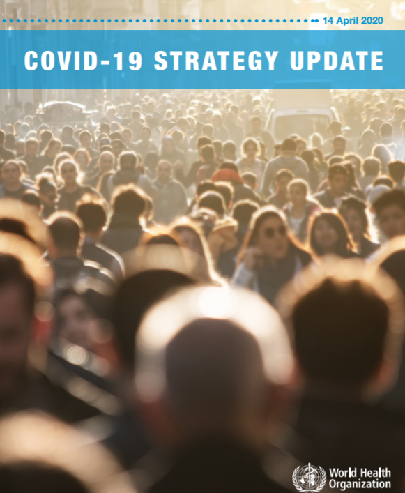 WHO COVID-19 Strategy Update Cover