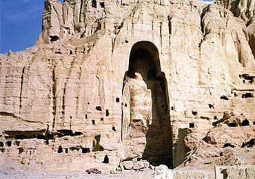 Bamiyan Buddha statue destroyed in Afghanistan