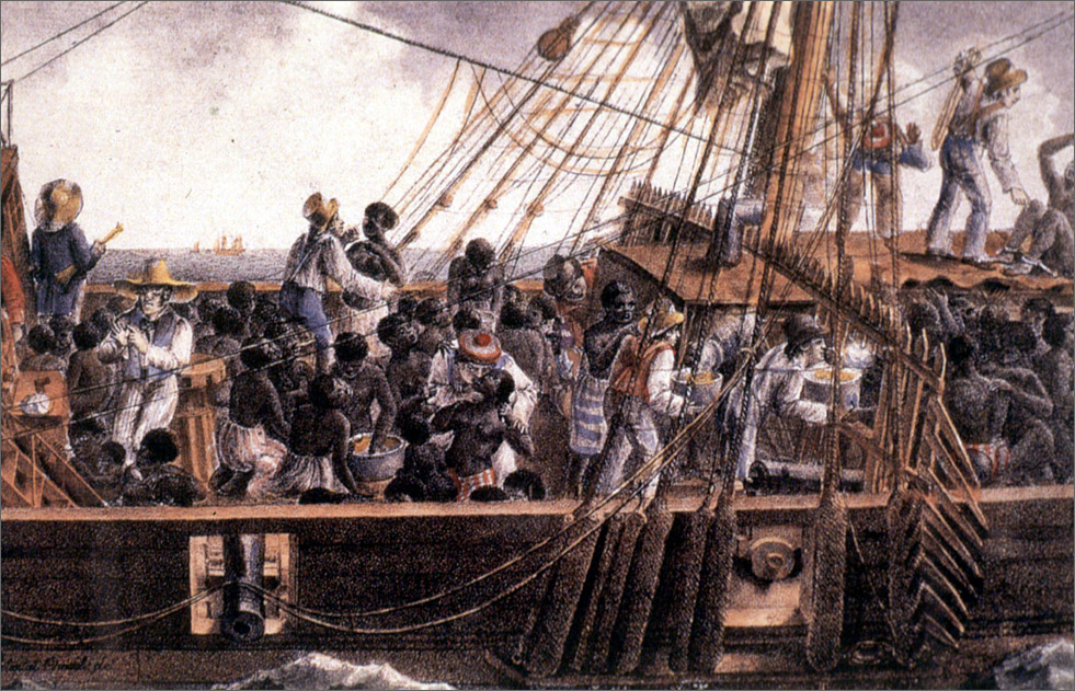 Early globalization and the slave trade yaleglobal online for 17th century french cuisine