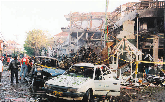 the bali bombing Our indonesian and american sources report that there was a significant us and israeli military-intelligence connection to the october 12, 2002 bombings of the sari club in bali, indonesia.